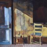 Study of Oscuro casita porch