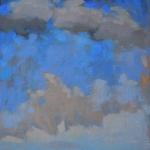 Ocean skyscape in March