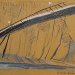 Study of Berck sur Mer bridge